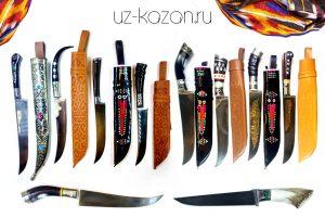 (Ё) Узбекские ножи (пчак) из города Чуст
