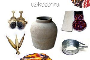 (К) Тандыр и инструменты для выпечки