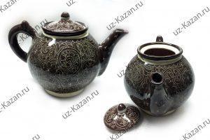 чайник ручная роспись